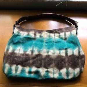 Tye dye shoulder bag
